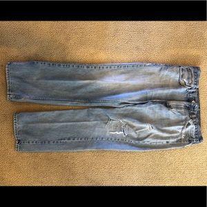 Levi's 505 Men's Jeans. Light Wash. 33/30.